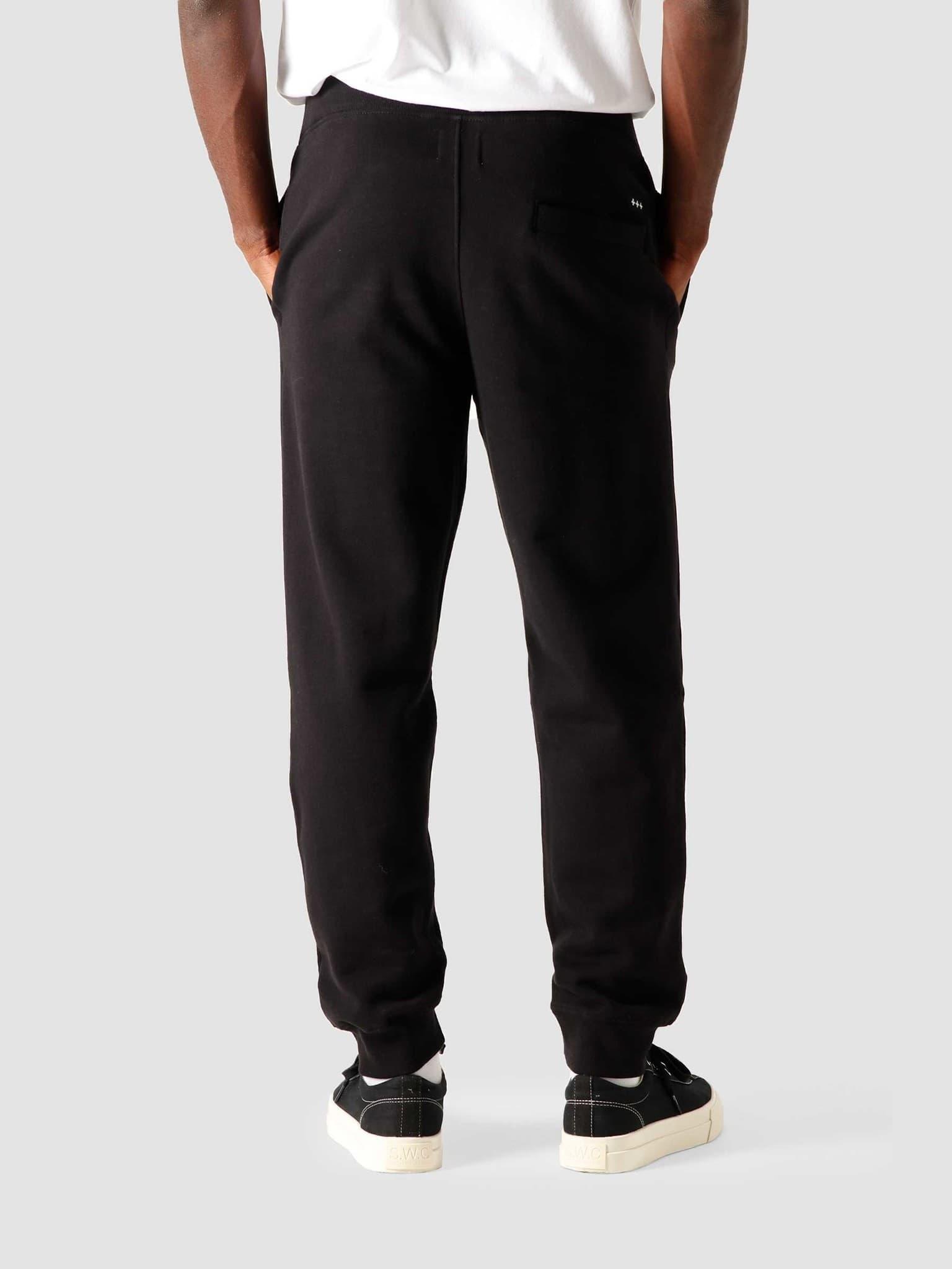 QB33 Patch Logo Sweat pant Black