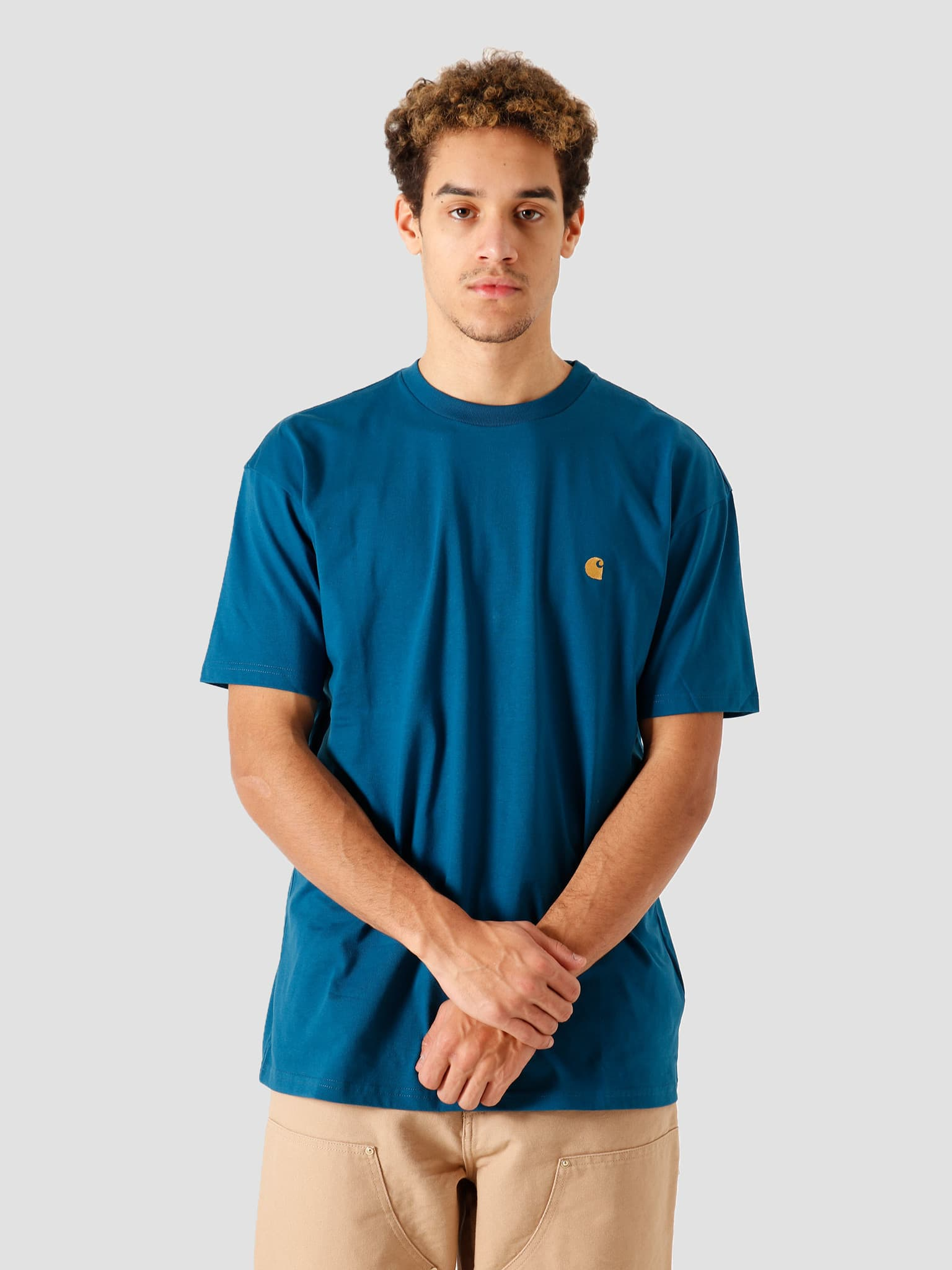 SS Chase T Shirt Corse Gold I026391-88890