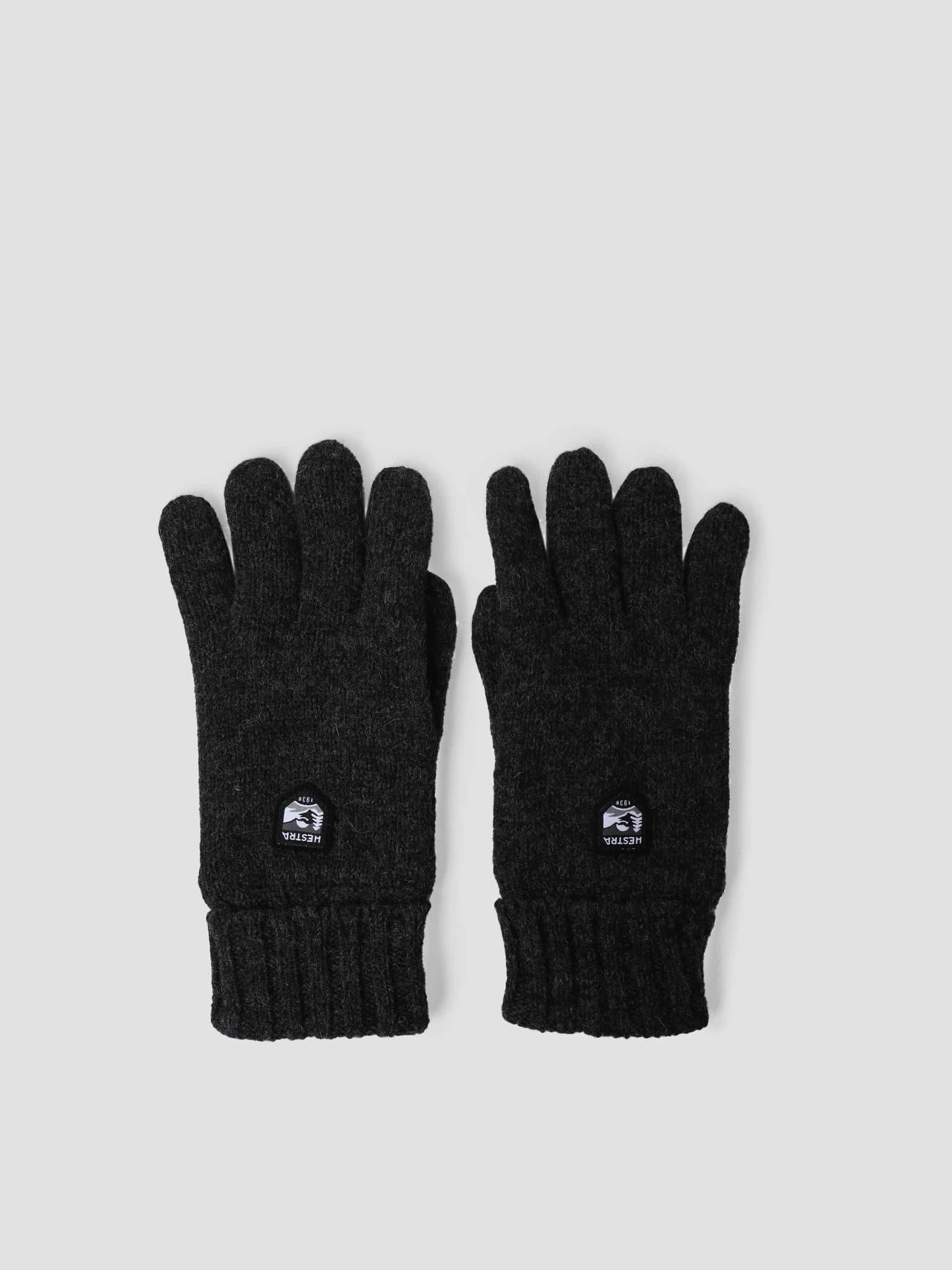 Basic Wool Glove Charocoal 63660-390