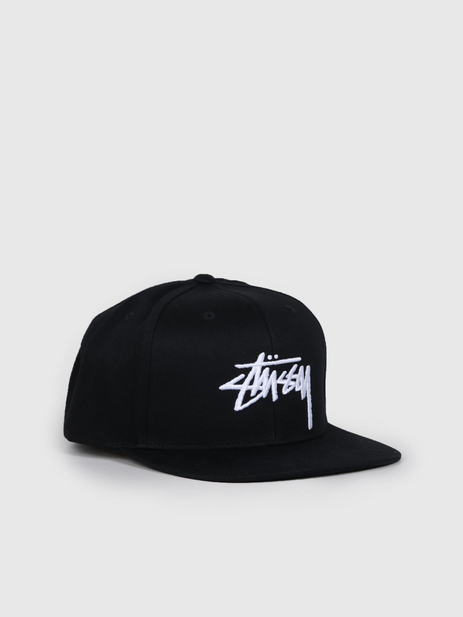 Stock Cap Black 131934