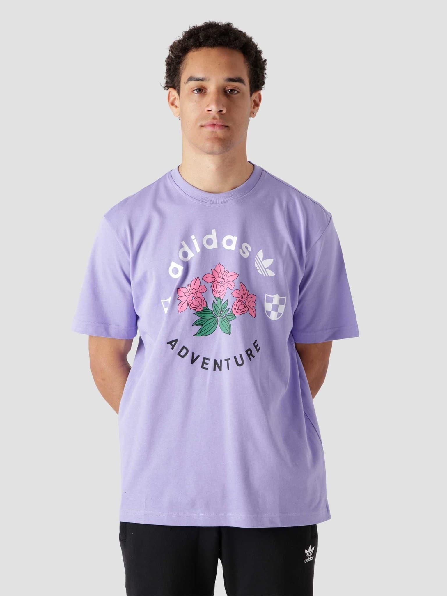 Flowers T-Shirt Purple GN2375