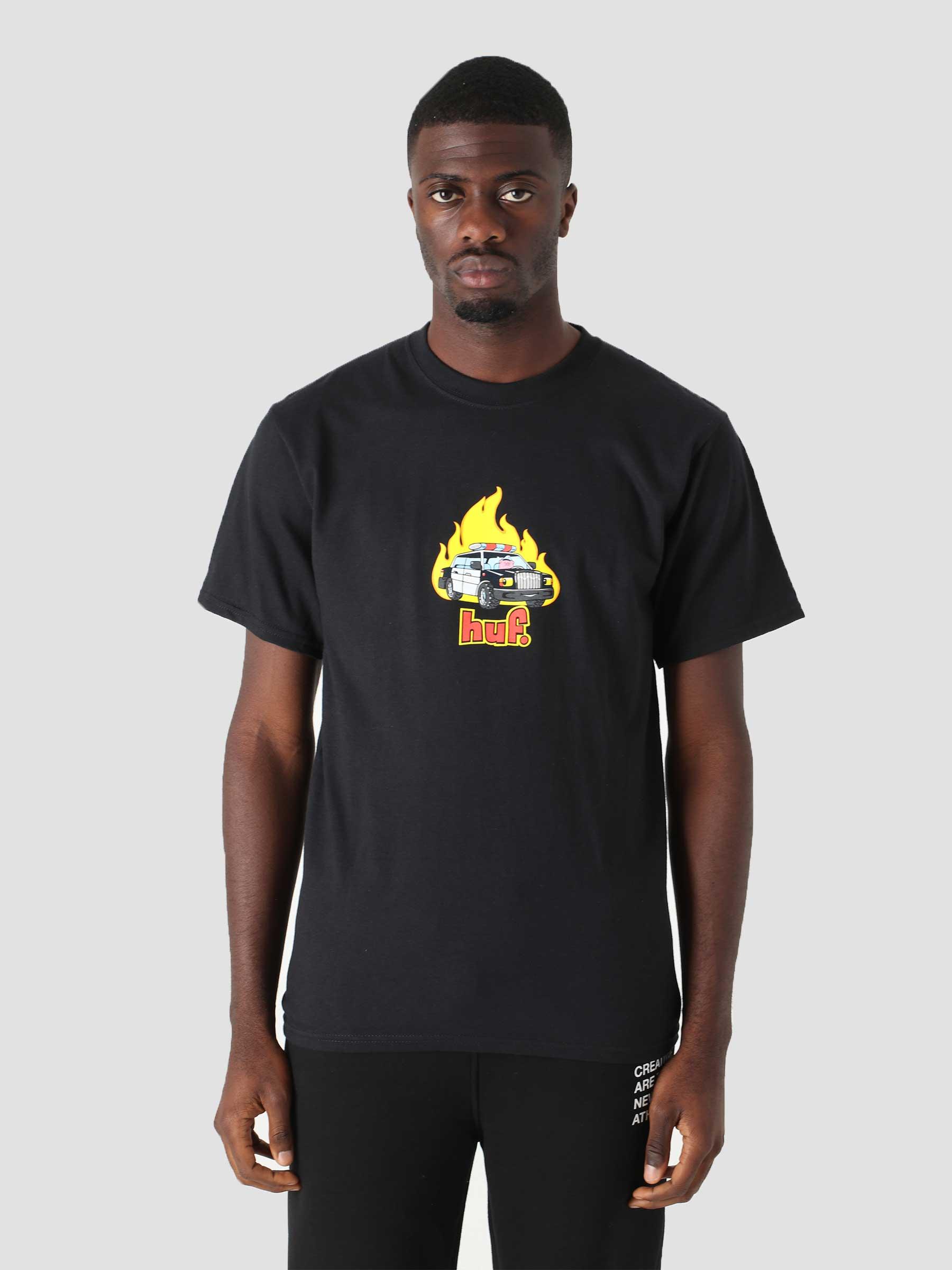 Roasted T-Shirt Black TS01506-BLACK