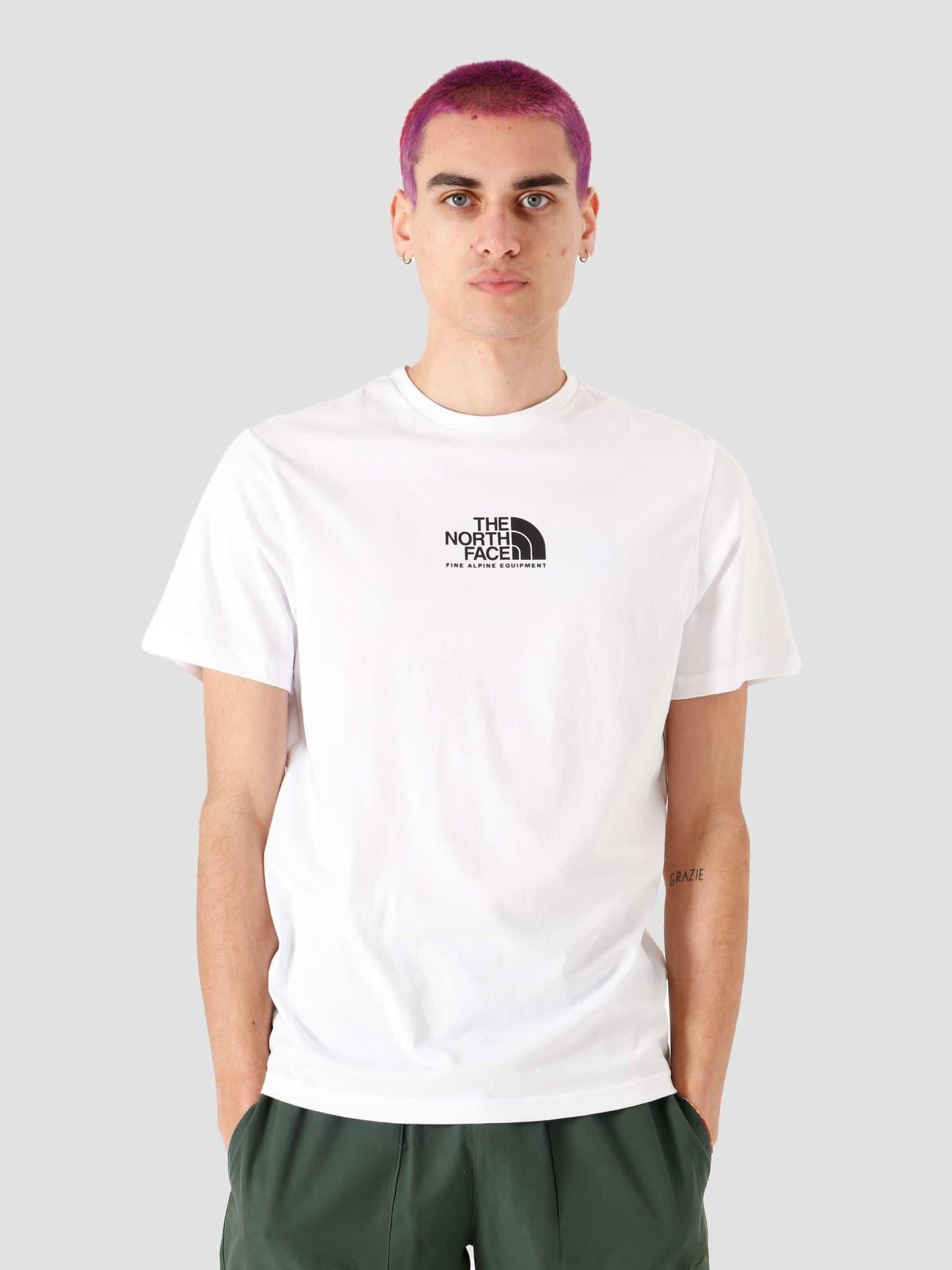 Fine Alpine Equipment T-Shirt White Black NF0A4SZULA9