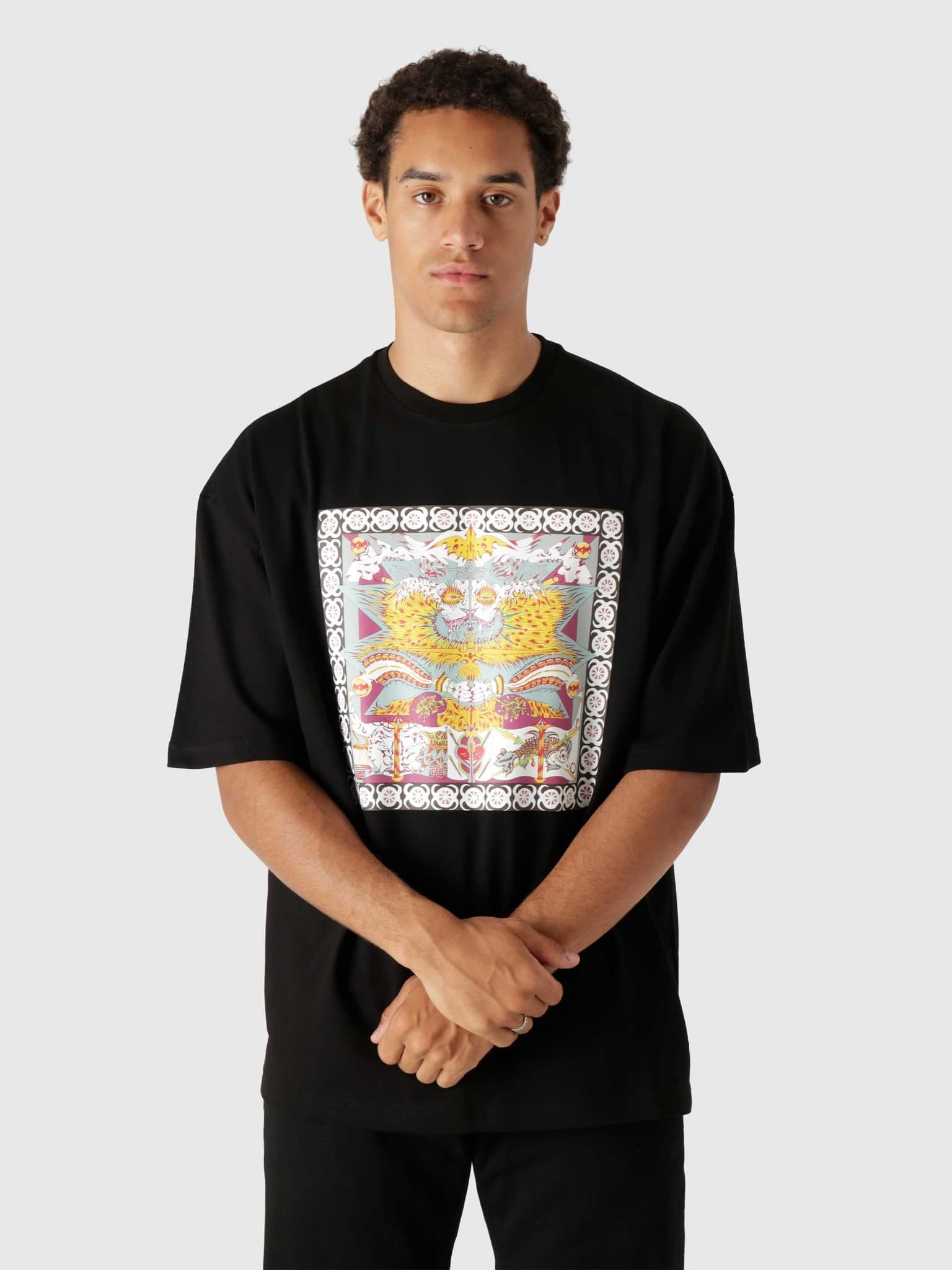 Levin Ss T-Shirt Black 2121019