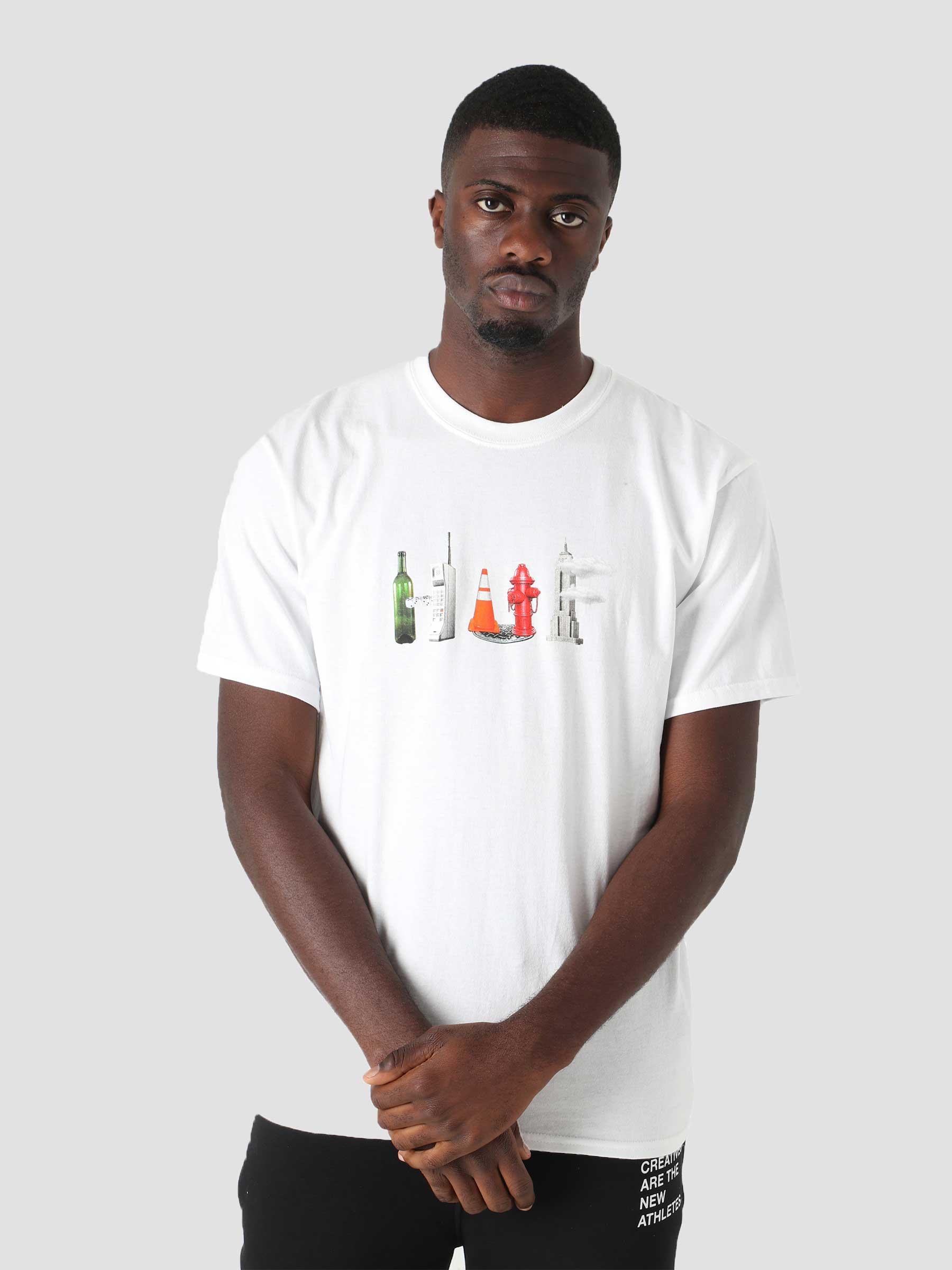 Objectified T-Shirt White TS01525-WHITE