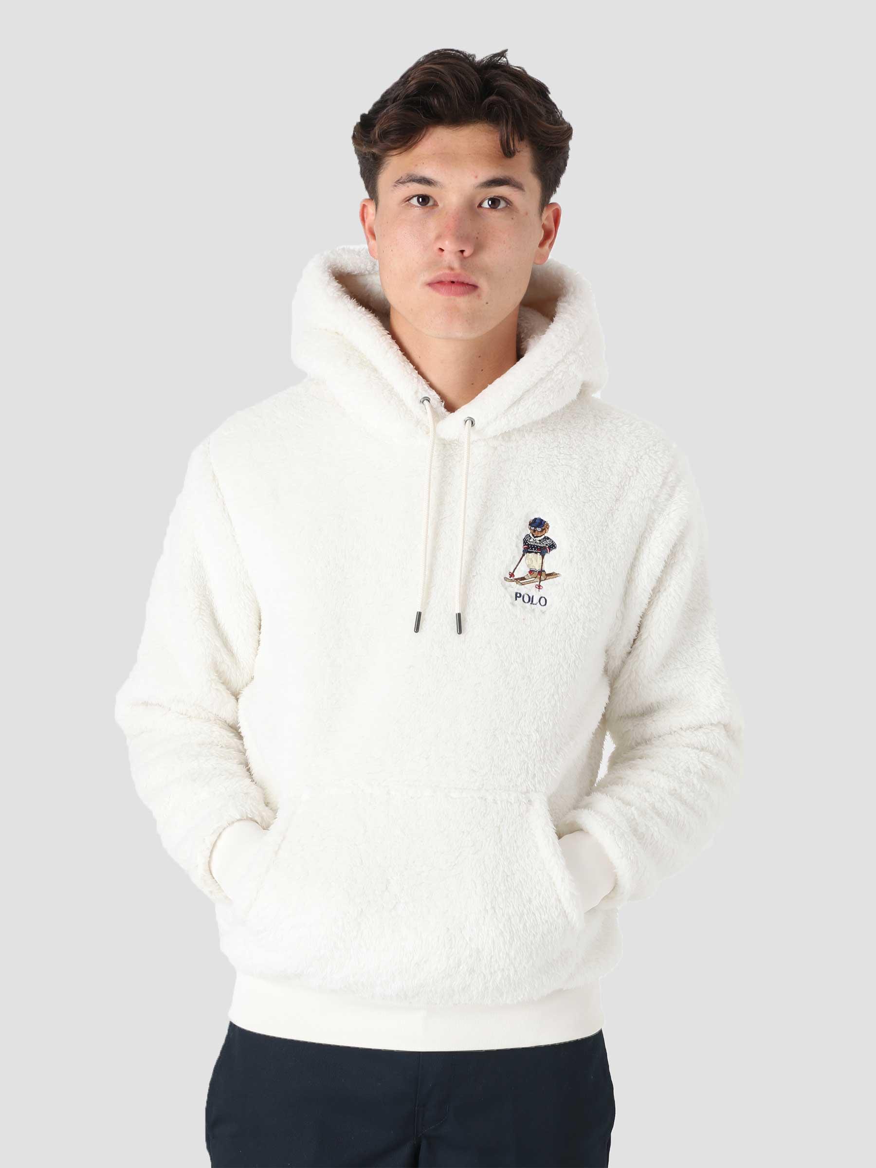 Hi Pile Sweatshirt Antique Cream 710853353001