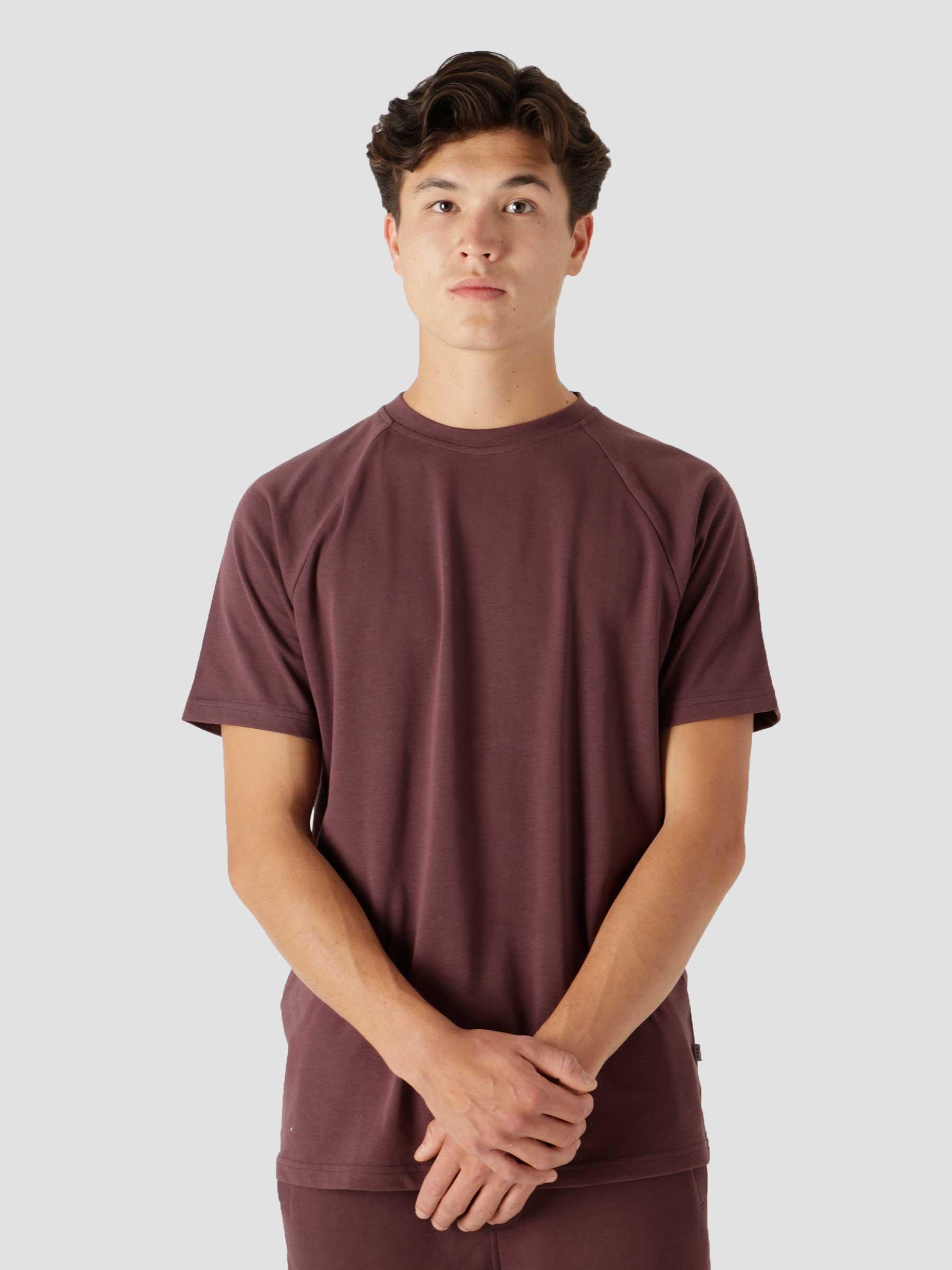QB302 Raglan T-shirt Truffel