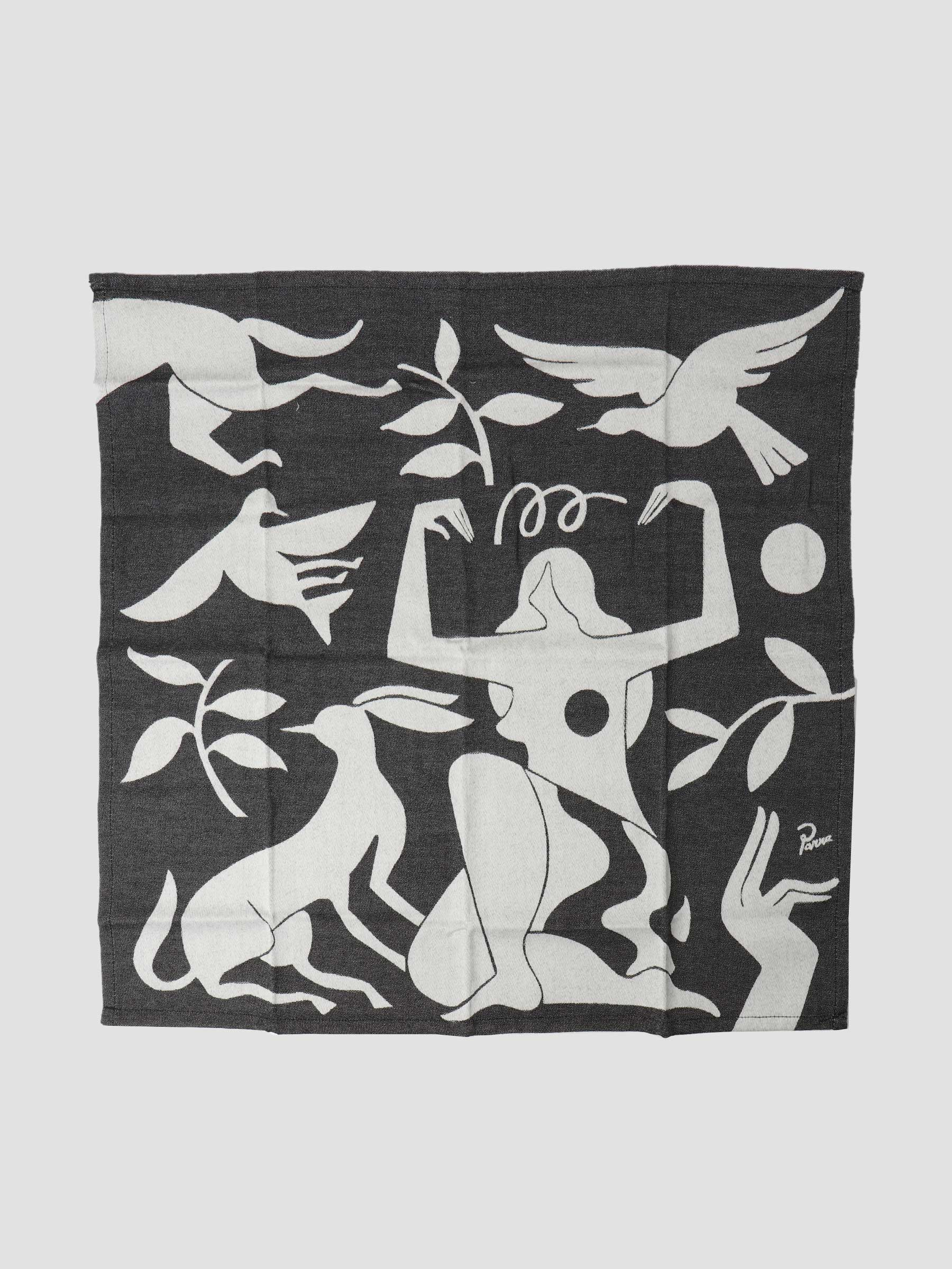 Earth Mother Kitchen Towel Black 46265