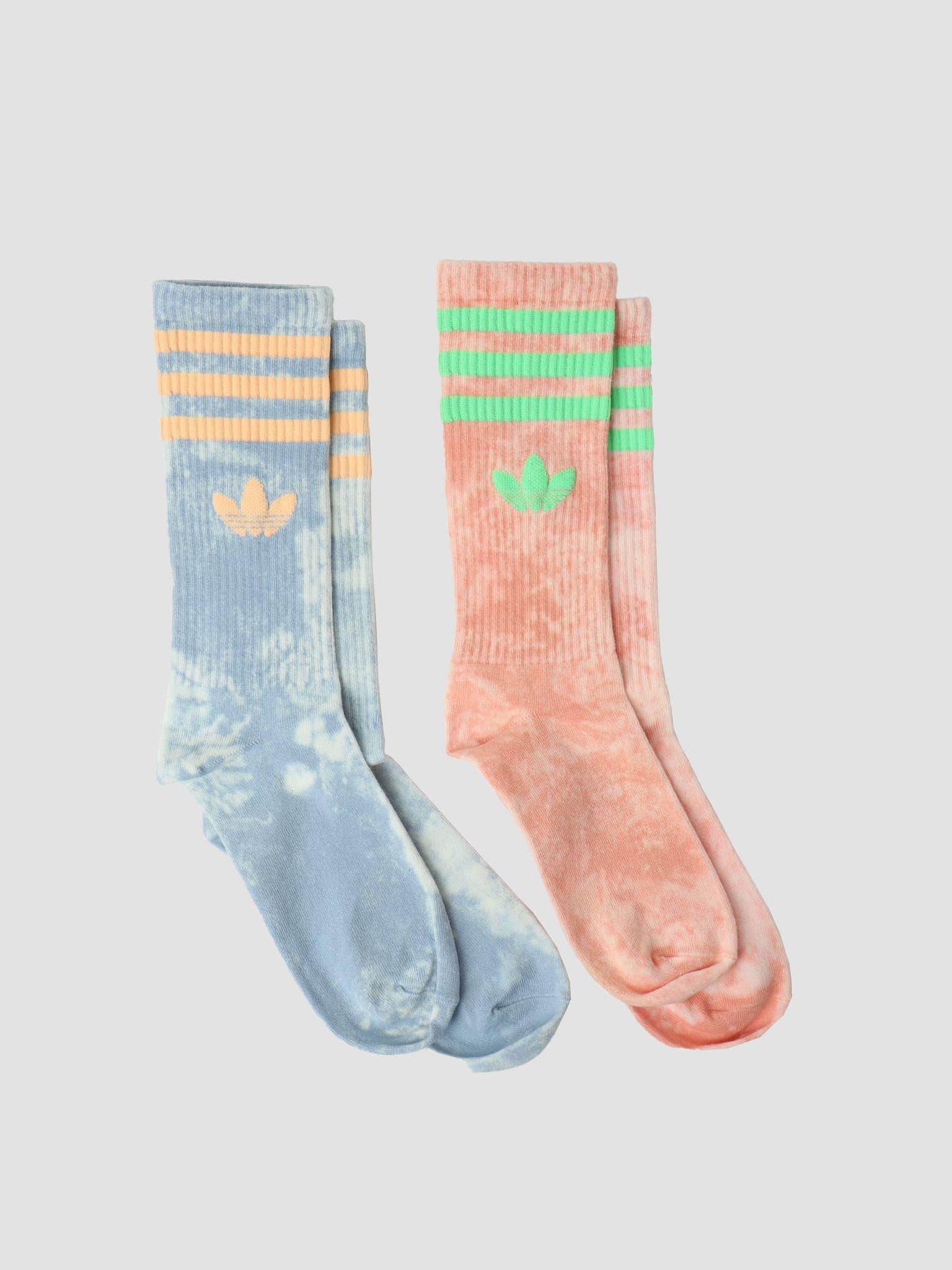 Tie Dye Sock Ambient Sky Ambient Blush HA4677