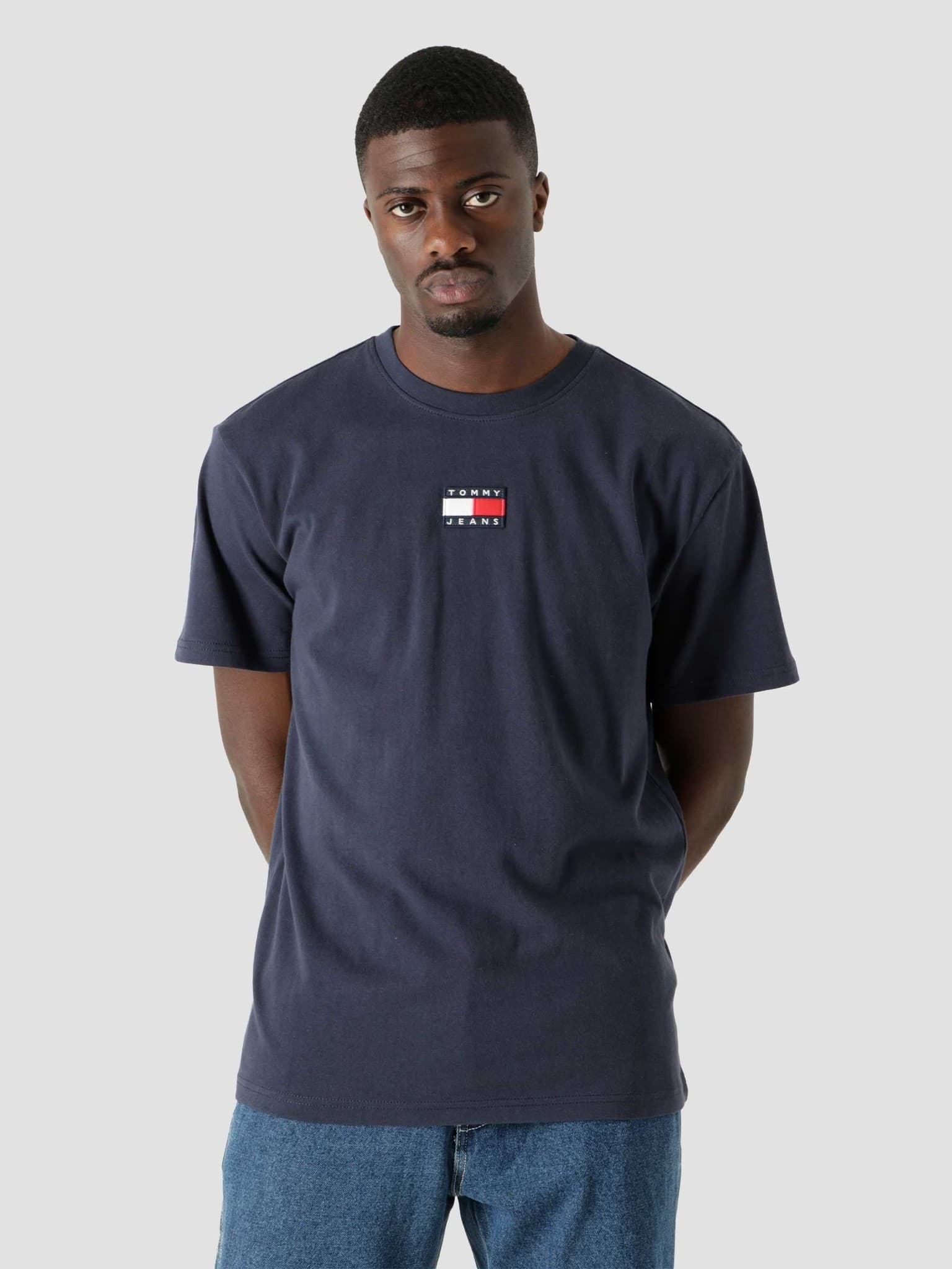 Tommy Badge T-Shirt Twilight Navy DM0DM10925-C87