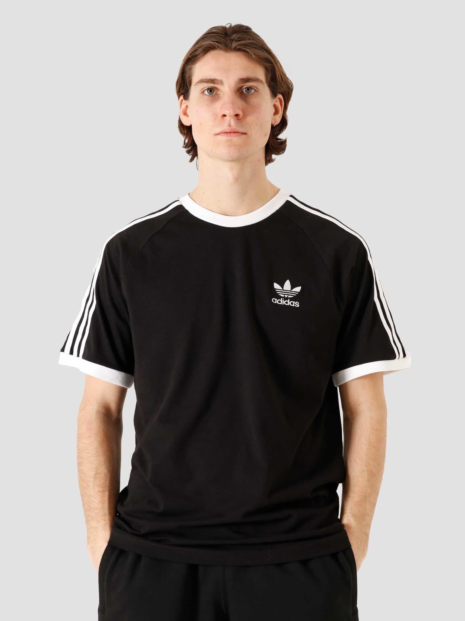 3 Stripes T-Shirt Black GN3495