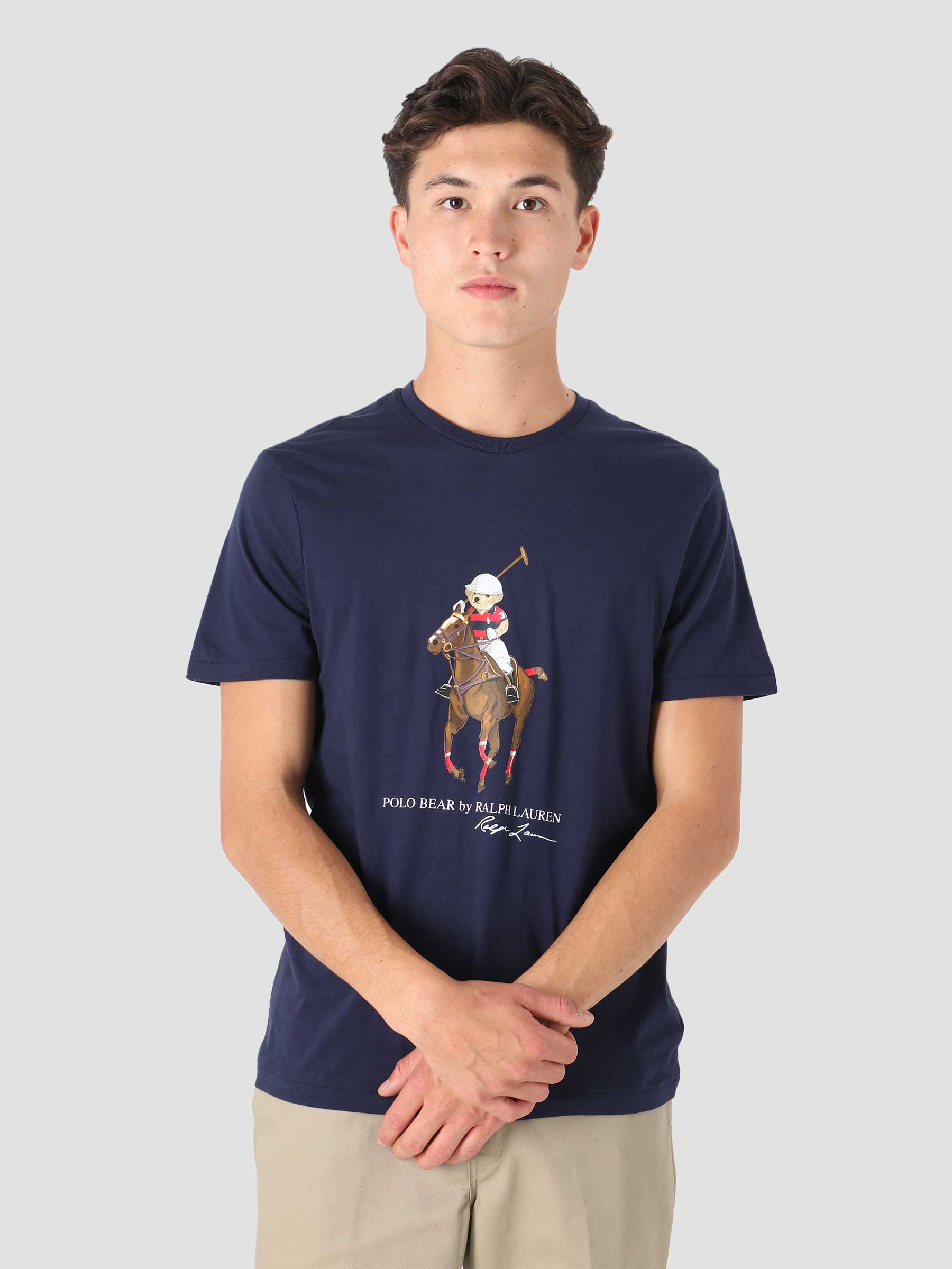 26-1 Jersey Short Sleeve T-Shirt French Navy 710853310002