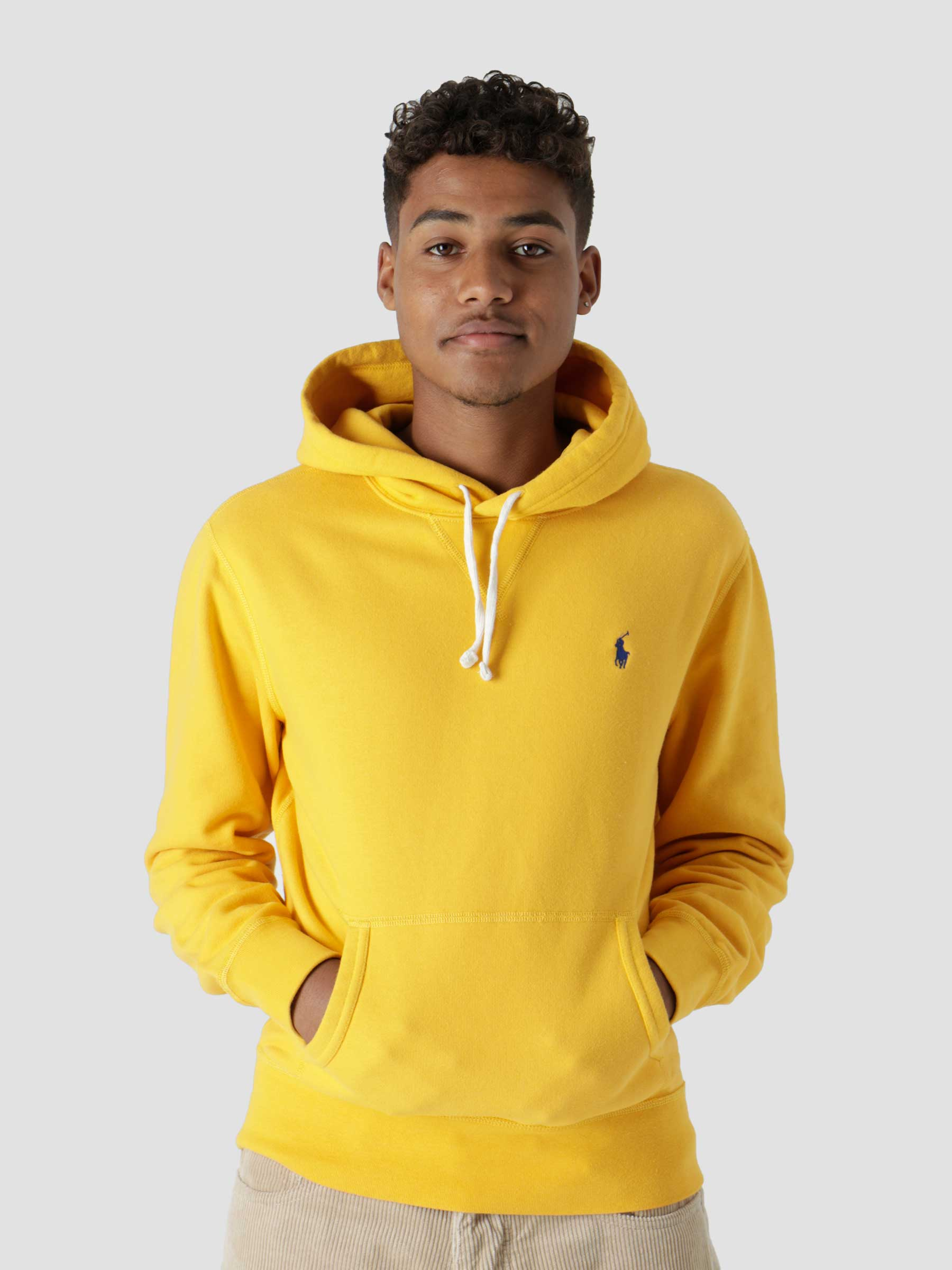 Rl Fleece Long Sleeve Knit Gold Bugle C7316 710766778041
