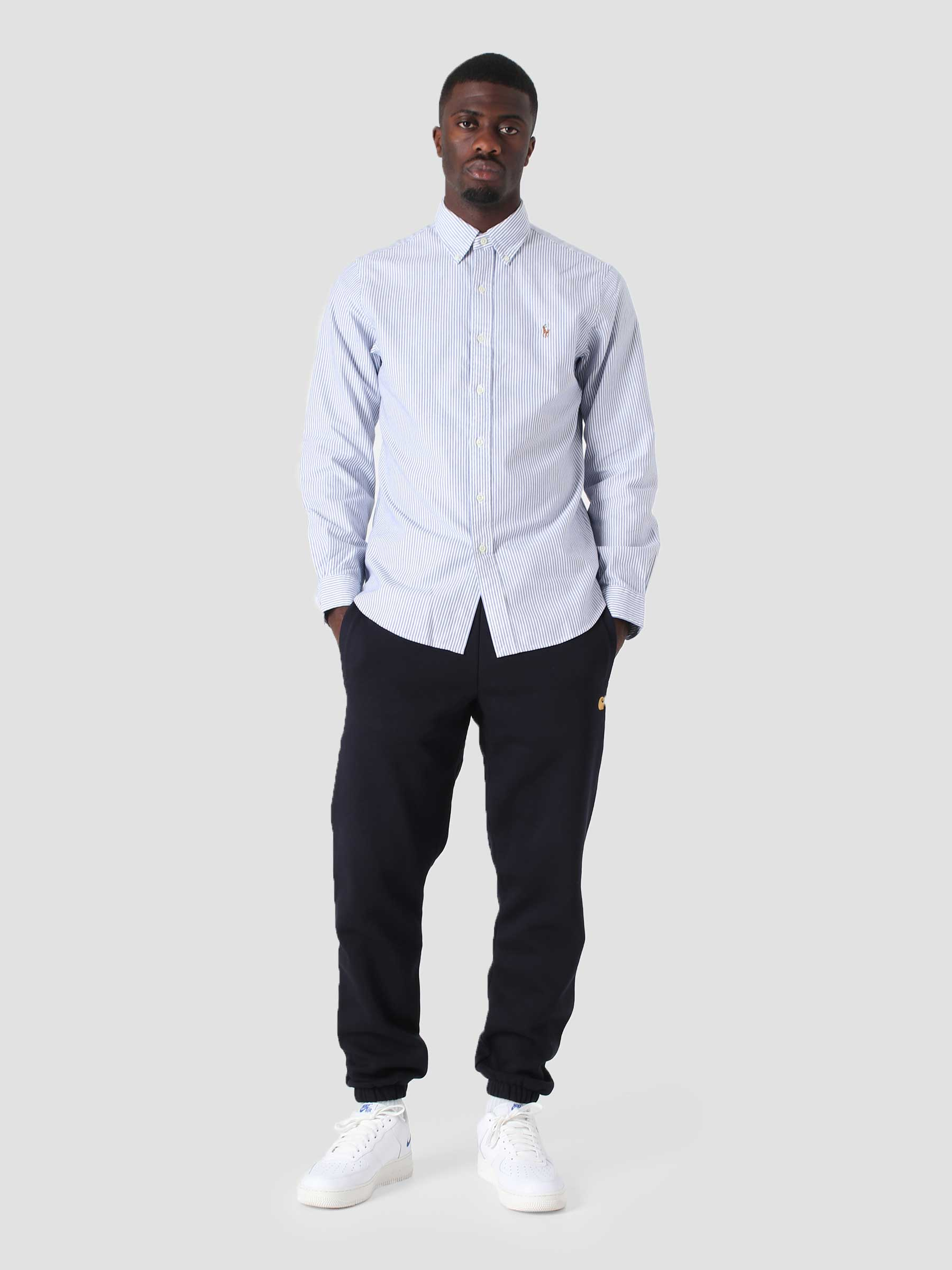 Classic Oxford Shirt 4830A Blue White 710853131002
